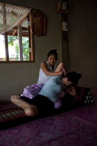 paar happy end massage Vriendin ervaring