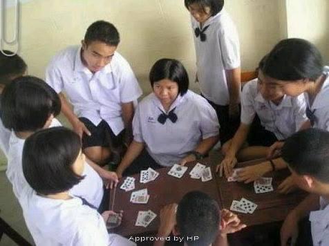 Twee op de drie thaise studenten gokt hier is - Ch amber voor twee ...