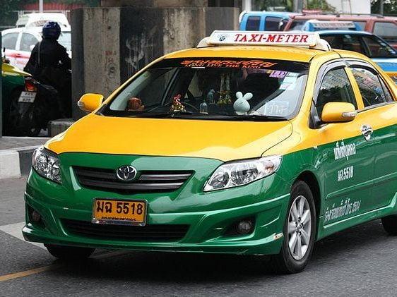 Taxi voor vrouwen in Bangkok