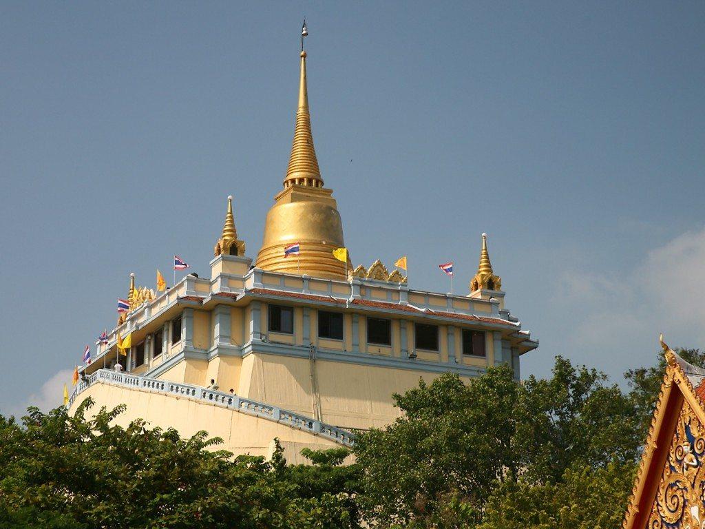 tempels in Thailand