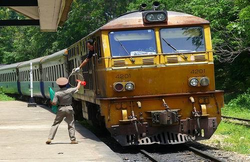 Tripjes met de trein in Thailand