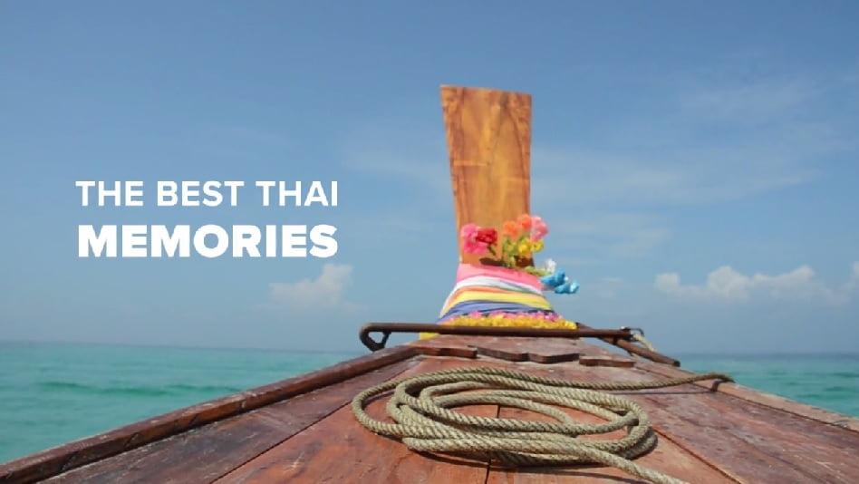 Herinneringen aan Thailand (video)