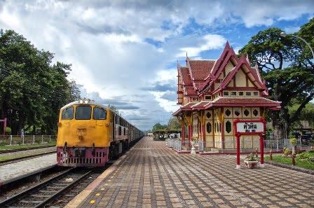Met de trein van Bangkok naar Hua Hin