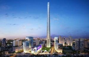 hoogste gebouwen van Bangkok