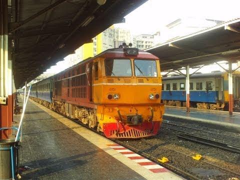 Met de trein van Bangkok naar Pattaya