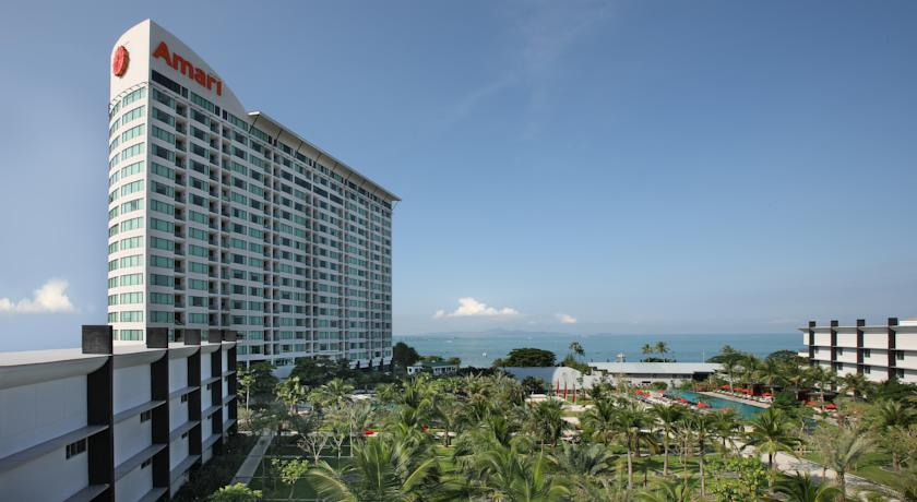 De tien beste hotels in Pattaya