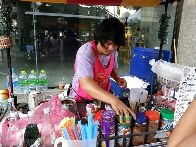 Thai zijn scheutig met suiker
