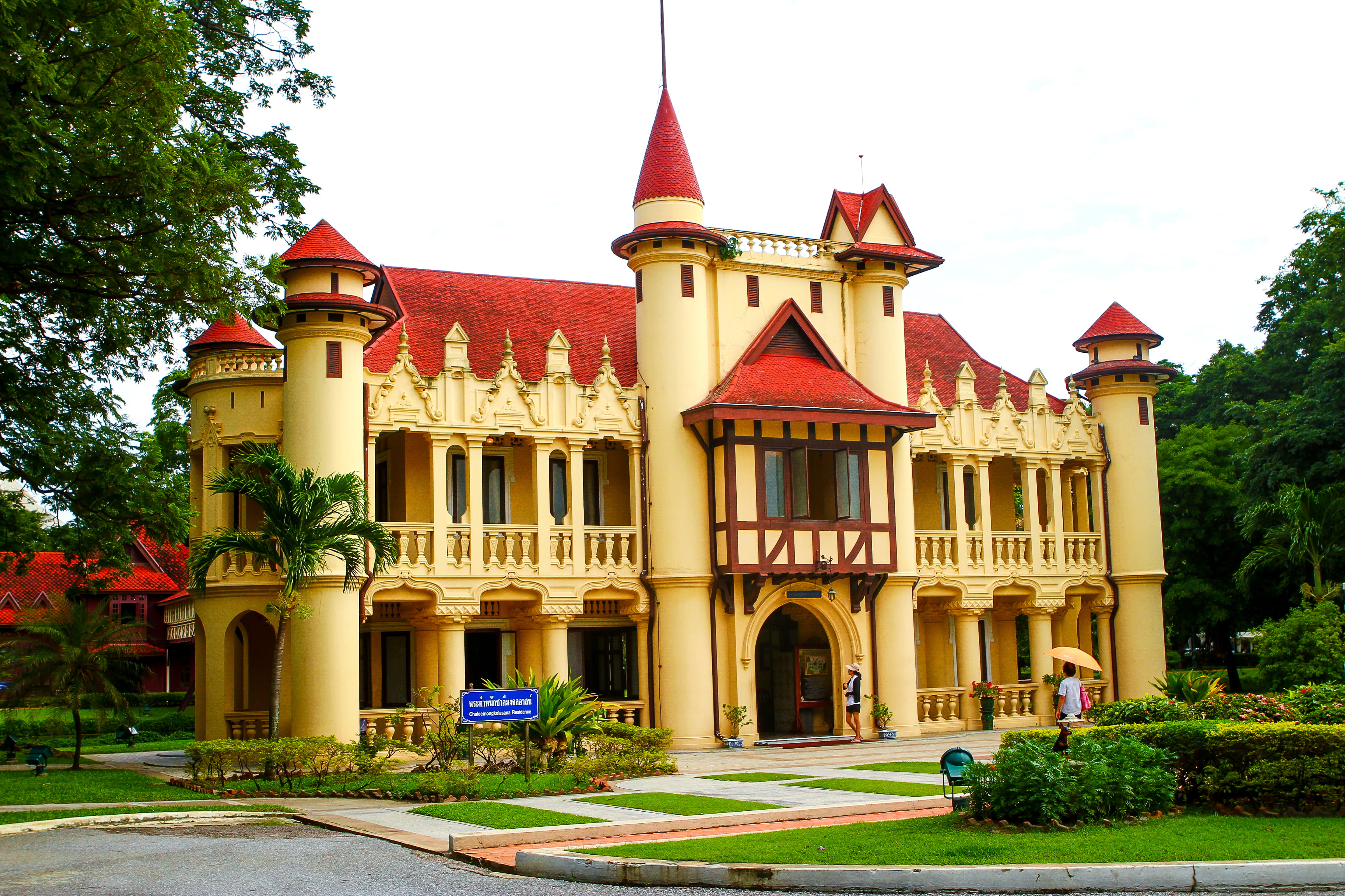Sanam Chandra Palace, Thais sprookjeskasteel - Hier is ...