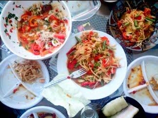 Thaise eetgewoonte