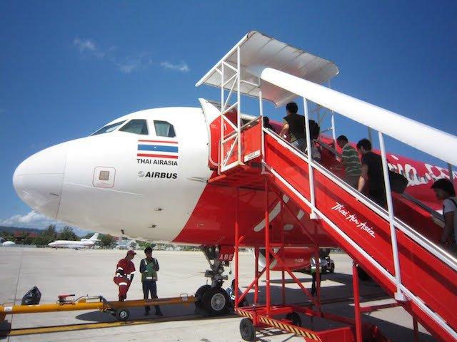 Vliegen met Thai AirAsia binnen Thailand
