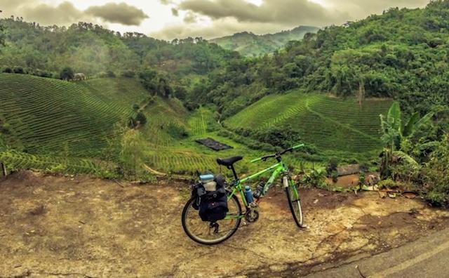 fietsen van bangkok naar chiang mai