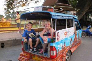 Reizen met kinderen in Thailand