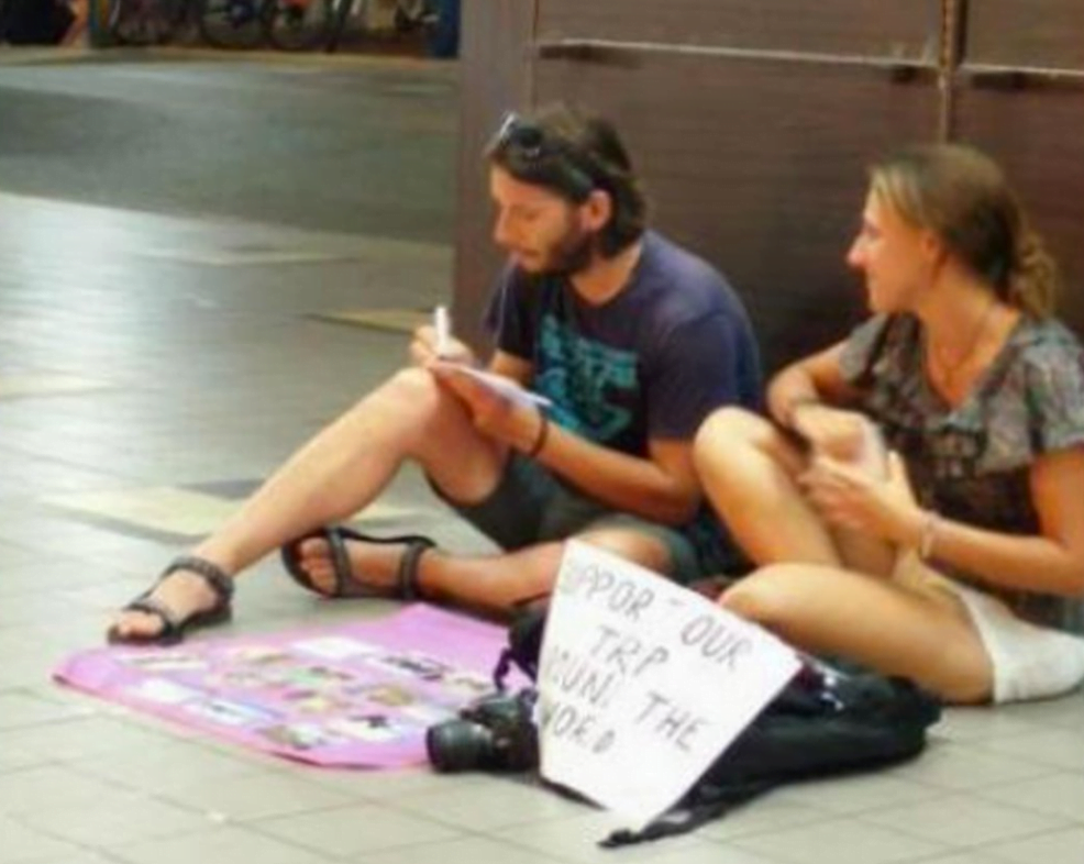 begpackers in thailand