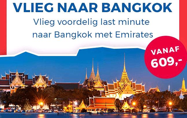 Last minute naar Bangkok? Nu vanaf 609 euro!