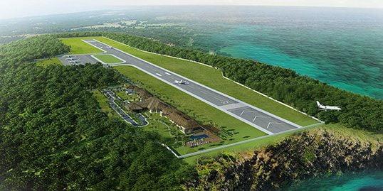 vliegveld op Koh Phangan