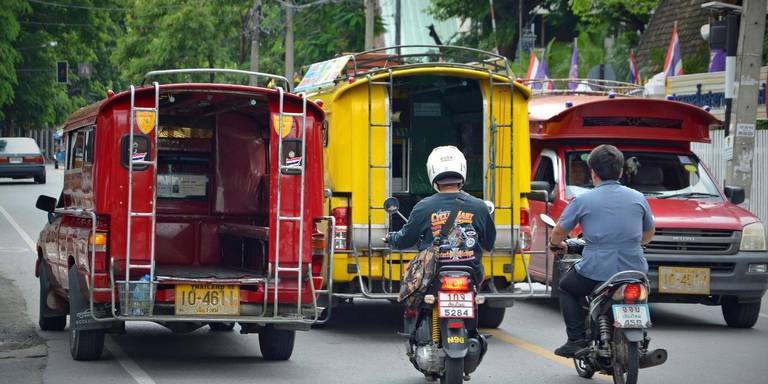 scooterongeluk in chiang mai