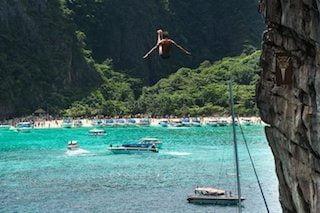 Cliffjumpen in Thailand: wie wil dat nu niet?