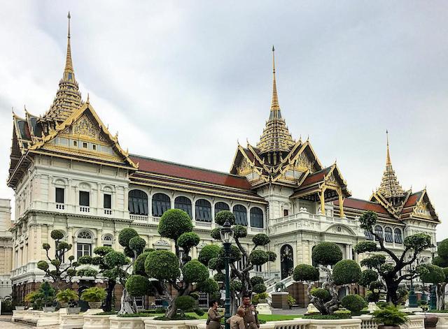Grand Palace bijna heel oktober gesloten