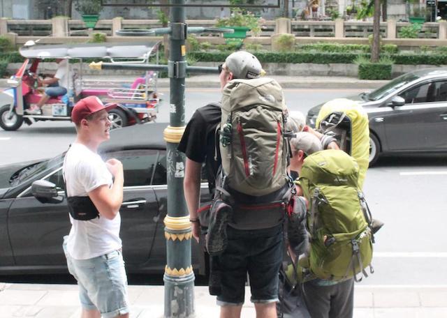 met je backpack naar thailand