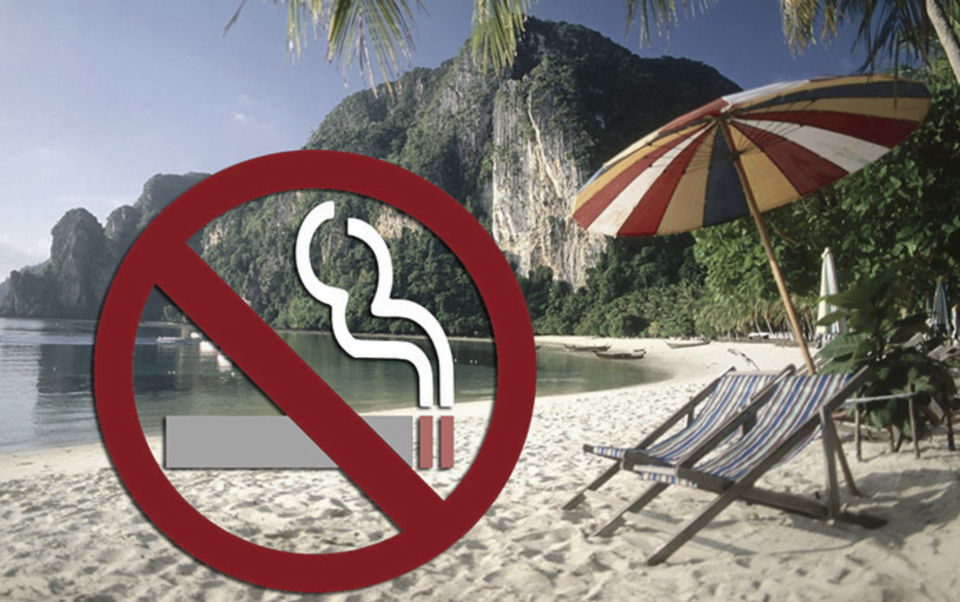 Roken op Thaise stranden binnenkort verboden