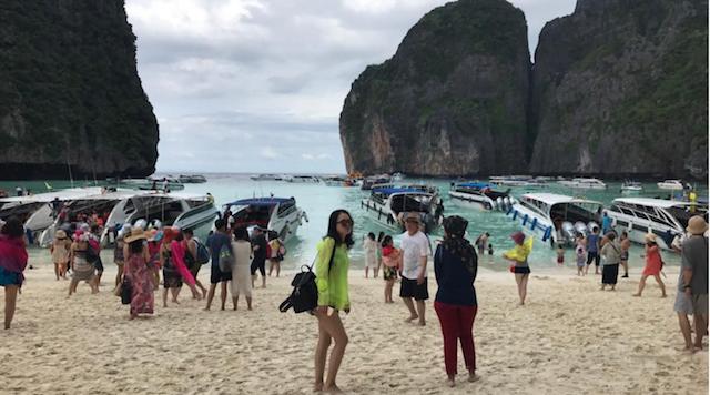 Slechte weersvoorspellingen in Krabi: toeristen blijven komen