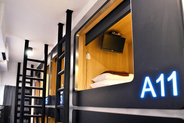 Capsule Hotels in Bangkok