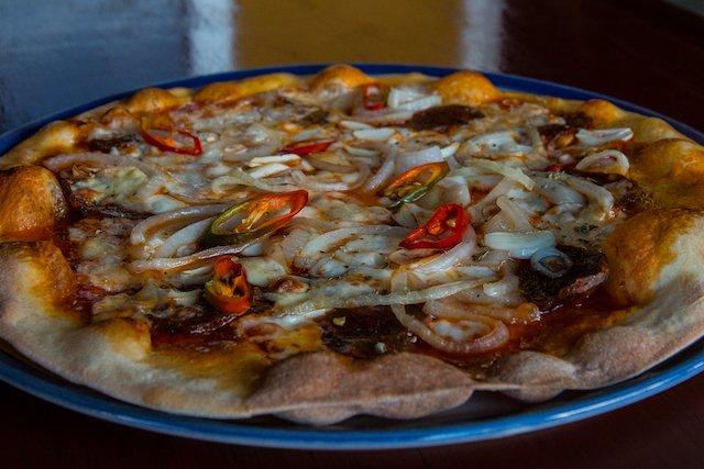 Italiaans eten bij Da Vinci in Chiang Rai