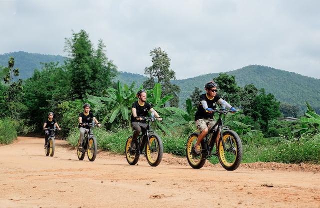 buzzy bee bike in chiang mai