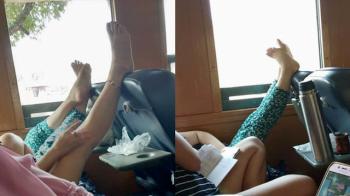 voeten omhoog in thailand