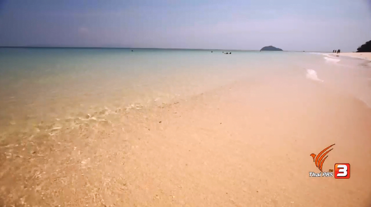 Harde wind langs de Thaise kust