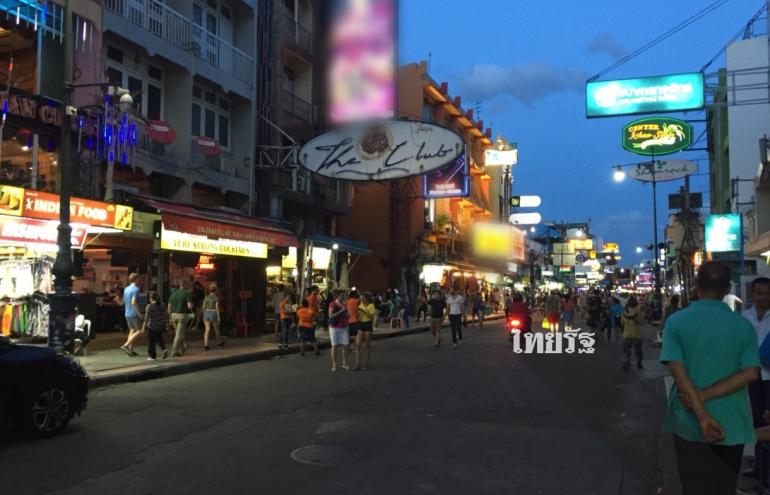 stilte op Khao San Road