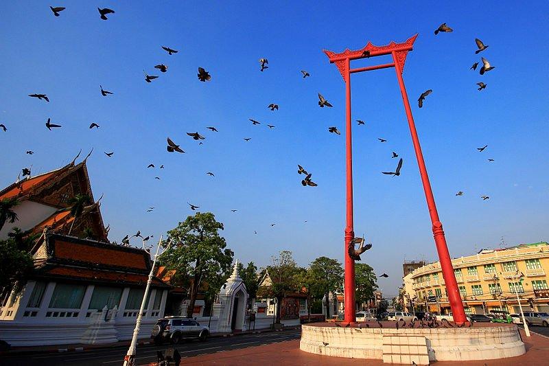 Ghost Gate in Bangkok