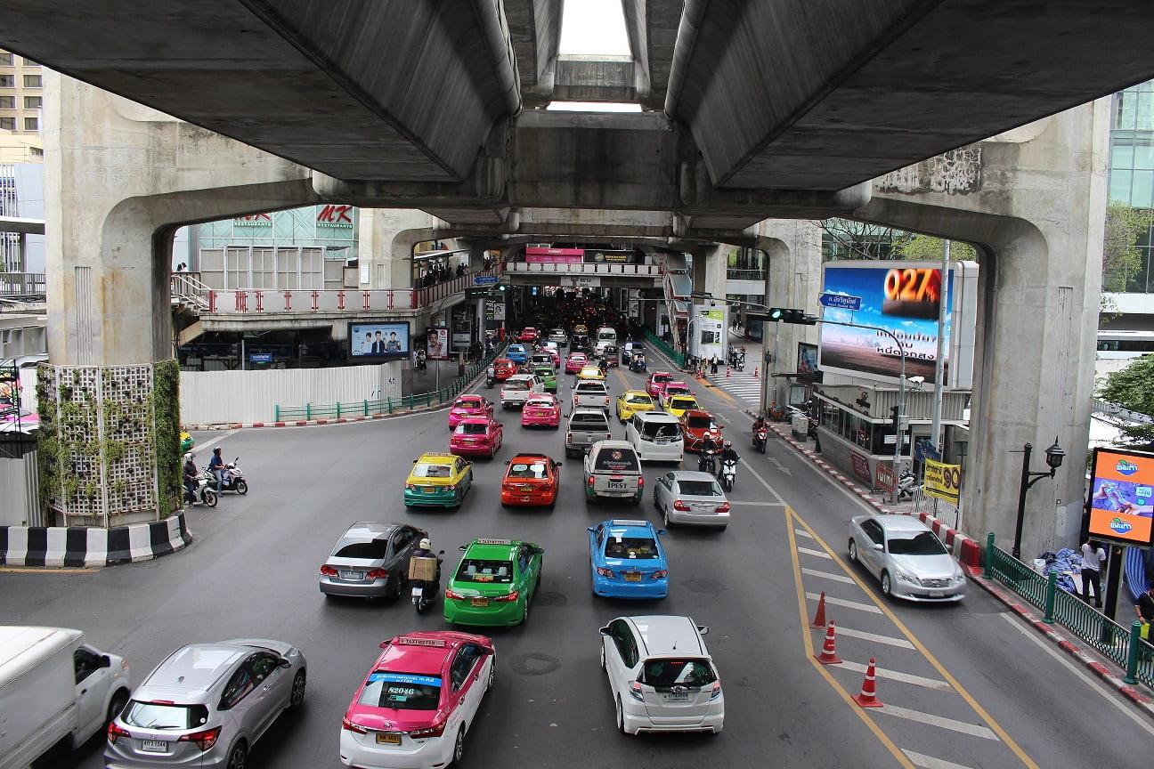 Lange vakantie in Thailand